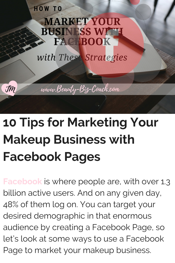 Makeup Business With Facebook Pages
