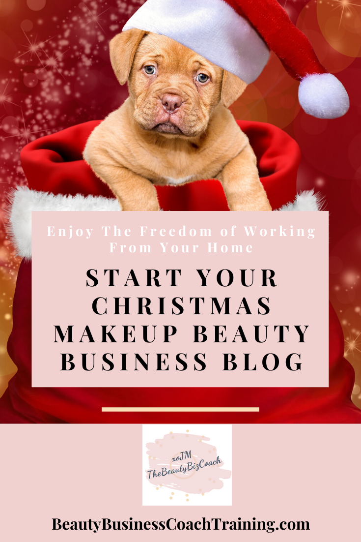 Christmas Makeup Blog